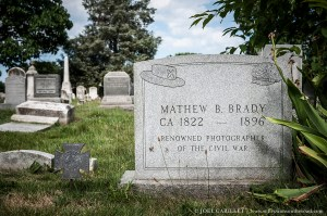 Photographer Mathew Brady's Grave In Washington D.C.