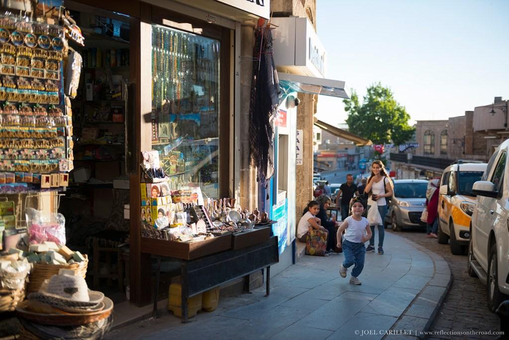 Running in Mardin, Turkey