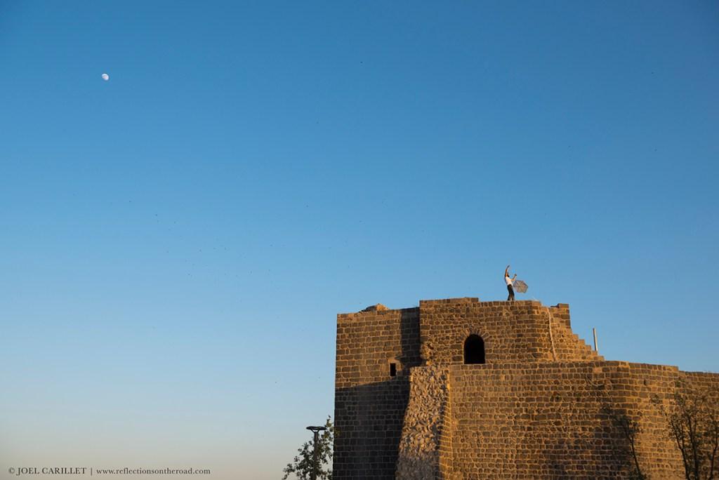 kite in Diyarbakir, Turkey