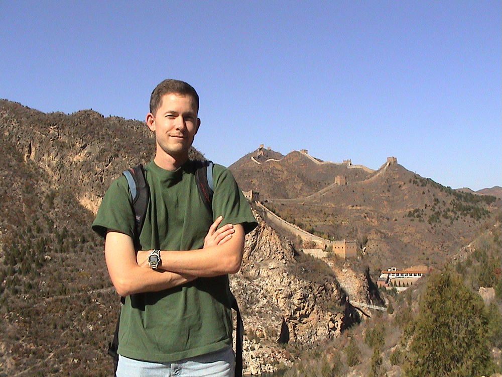 Great Wall of China at Simitai