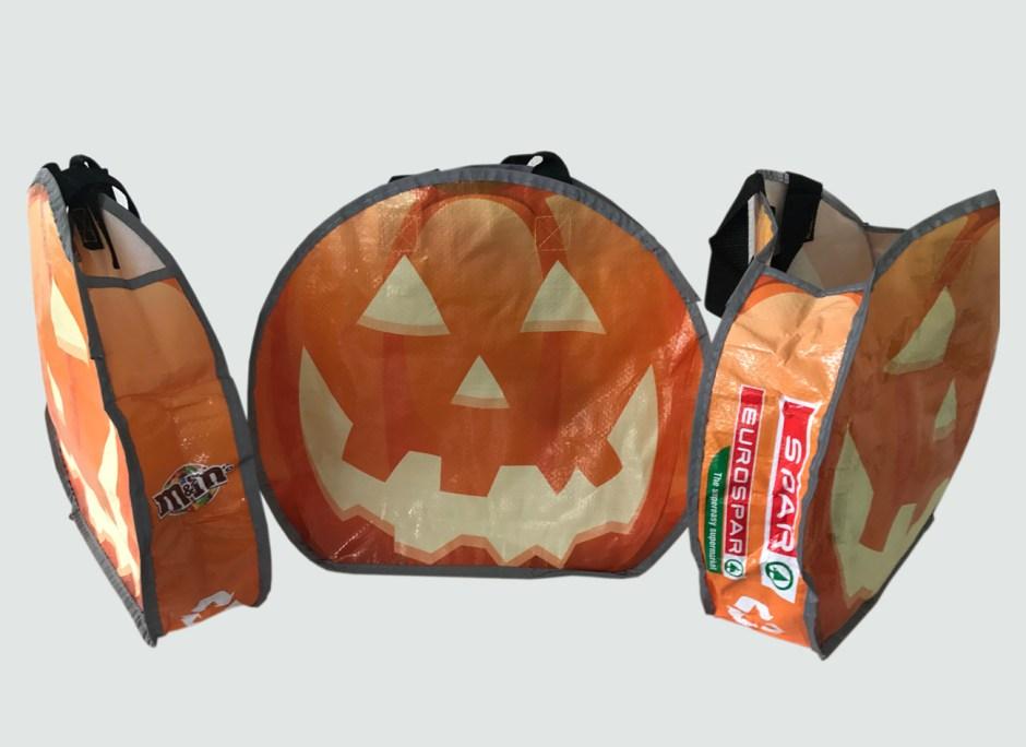 Reflective Pumpkin Bag- Making Halloween Safe and Fun for Kids