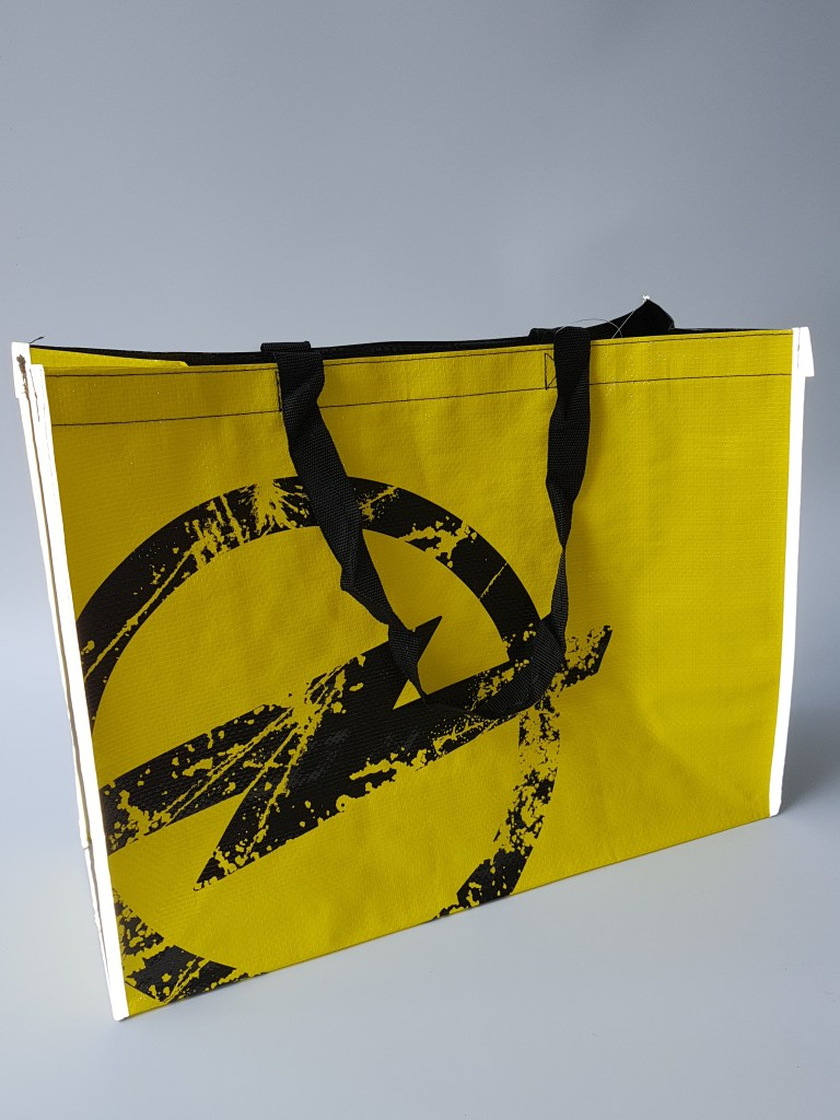 Automotive Promotional Items by Opel - Reflective Shopping Bag