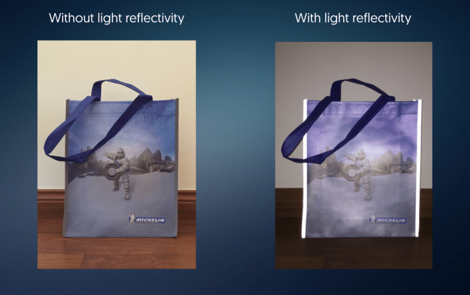 Michelin Promotional Shopping Bags Convey Strong Road Safety Message