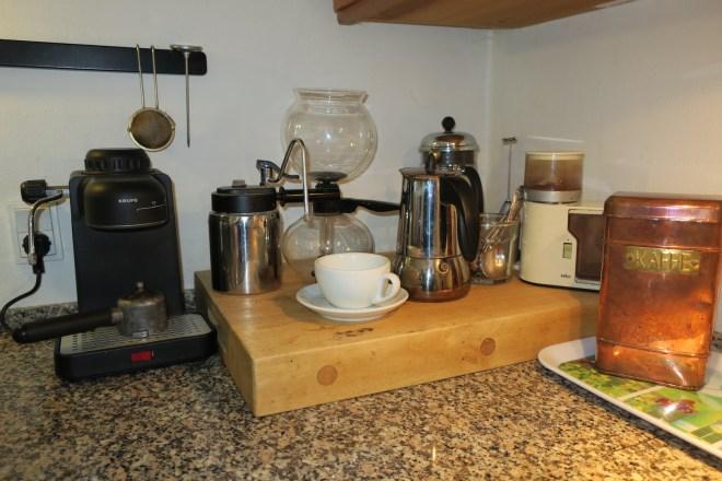 Vores egen kaffe-bar