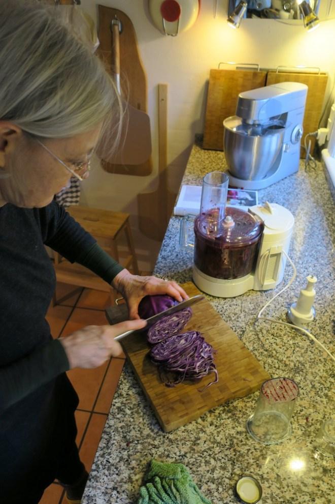 Der snittes før fermentering