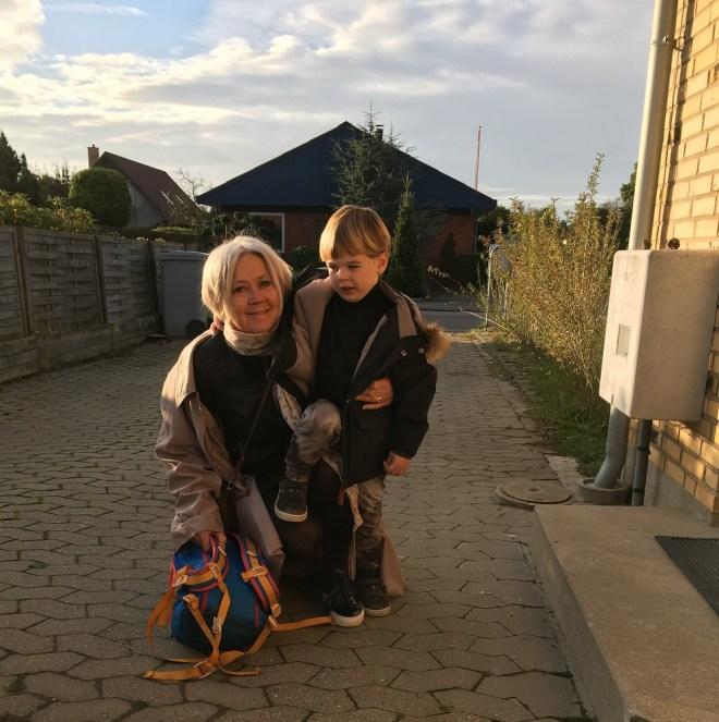 Vibeke og Osvald i morgensol