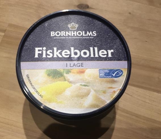 Vol-au-vent - fiskeboller fra Bornholm