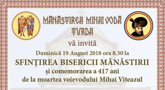 Programul manifestarilor dedicate comemorarii voevodului, Mihai Viteazu