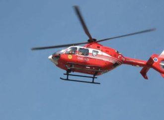 ACCIDENT rutier oribil lângă Ploscoș – a intervenit elicopterul SMURD