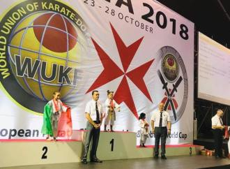 Trei aiudeni medaliați la Campionatul European de karate WUKF