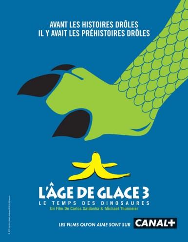 Canal + parodie affiche Age de Glace 3