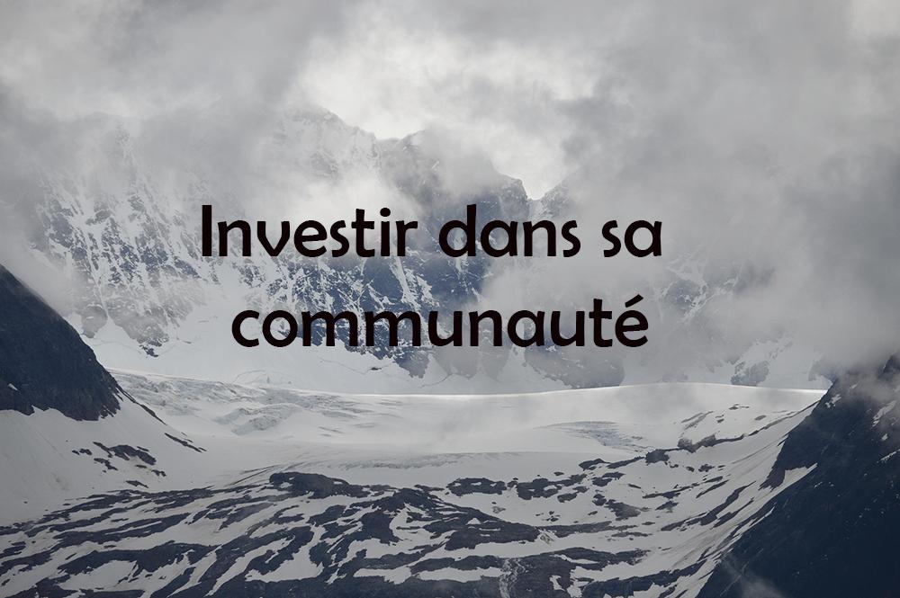 investissement commautaire