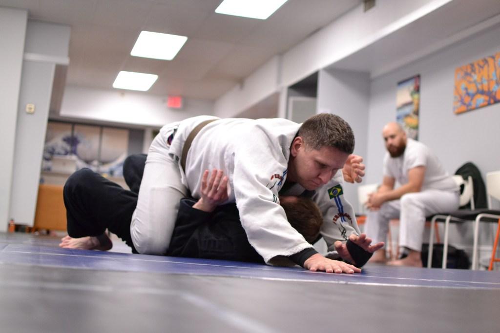 reflex Jiu Jitsu rolling