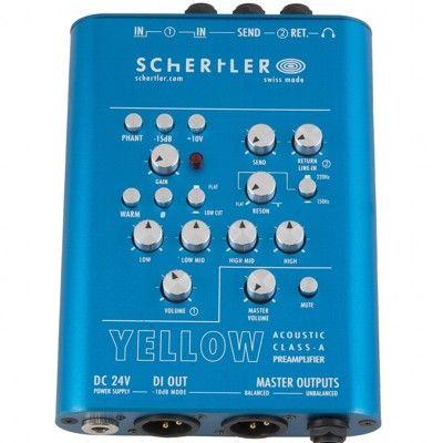 schertler yellow single