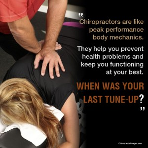 Chiropractic care for peak performance