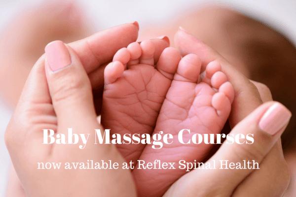Baby Massage Courses at Reflex Spinal Health Caversham Reading