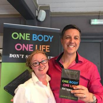 Reading Chiropractors Laura Andy Andrew Green author One body one life don't screw it up