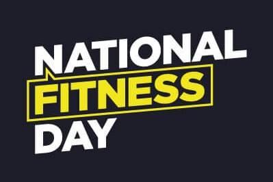national fitness day logo