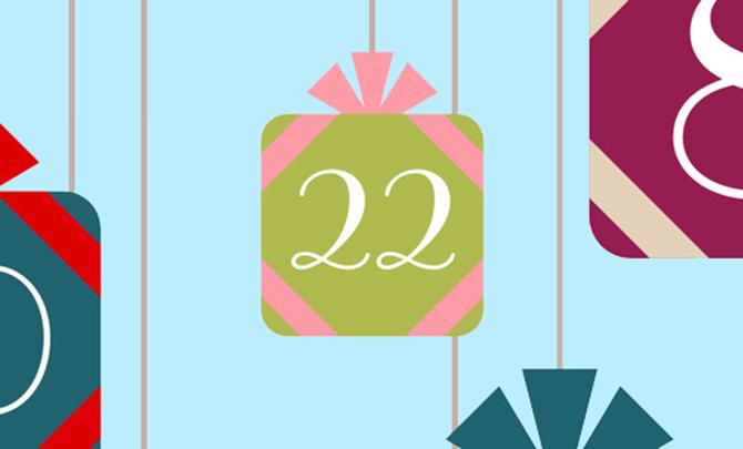 Commitment-Phobe: Advent challenge, day 22
