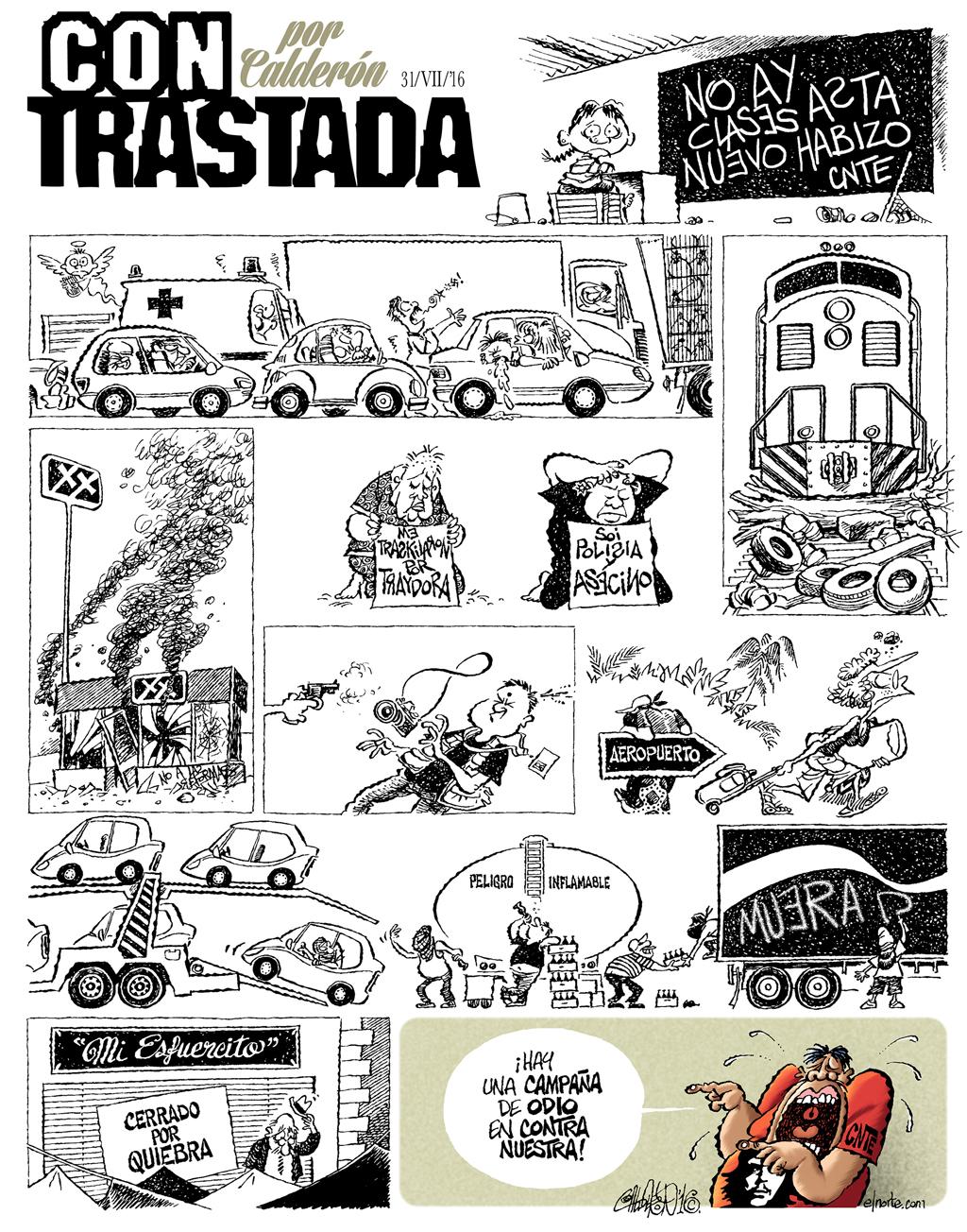 ConTrastada - Calderón