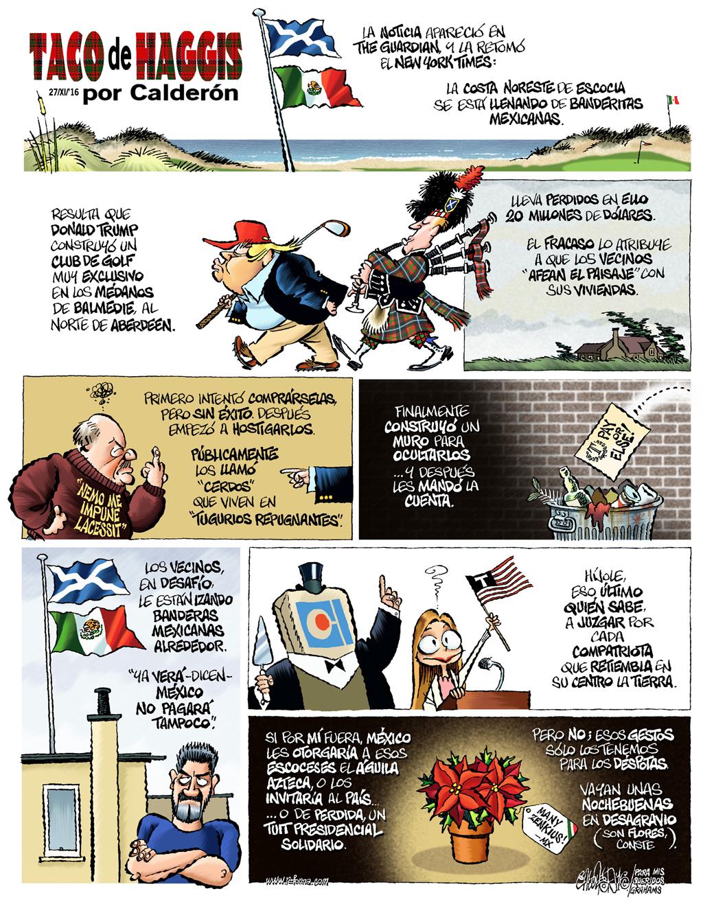 Taco de Haggis - Calderón