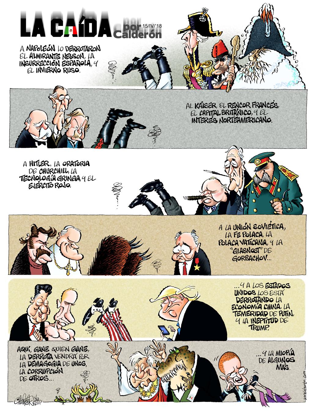 La caída - Calderón