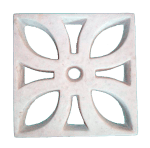 Elemento Vazado em Concreto modelo Flor