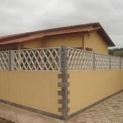 Grade de Concreto modelo Losango