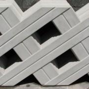 Grade de Concreto modelo Ripas destaque
