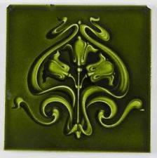 Azulejos antiguos -verde