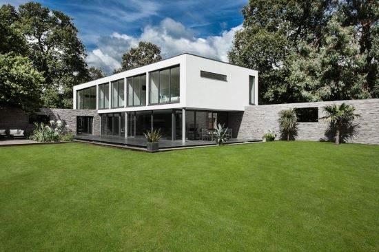 Fachadas estilo contemporaneo materiales y colores for Fachadas de casas estilo contemporaneo