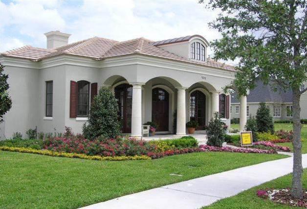 diseño de casas coloniales fachadas