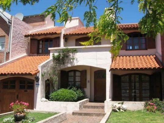 Fachadas de casas con estilo colonial Fotos de patios de casas pequenas
