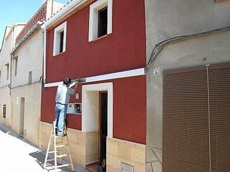Pinturas para revestimientos de fachadas exteriores for Pintura para exteriores