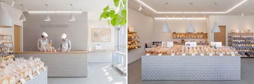 Style Bakery, un local donde la sencillez y la cerámica se funden en un fantástico resultado.
