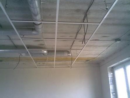 Cómo instalar un falso techo