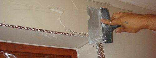 reparar una pared de pladur