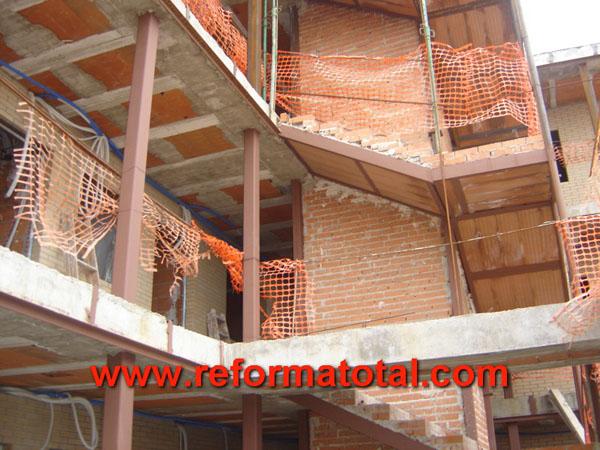 22 fotos vigas construcciones reforma total en madrid empresa de reformas y obras integrales Empresa construccion madrid