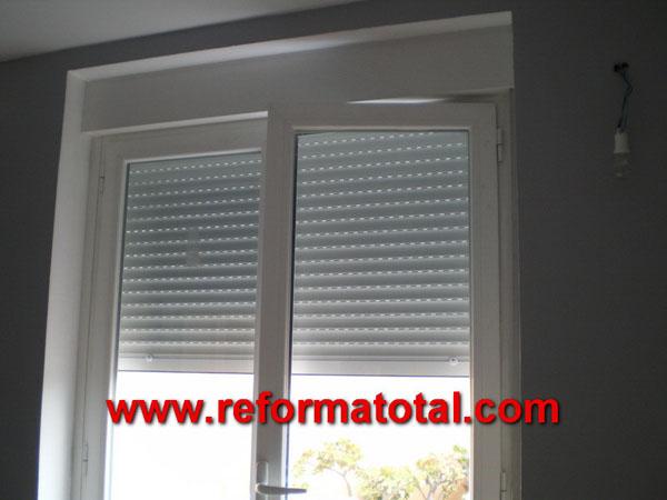 Pintura interiores reforma total en madrid empresa de for Precio ventanas aluminio climalit persiana
