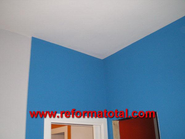 Pintura interiores reforma total en madrid empresa de for Presupuesto pintar piso