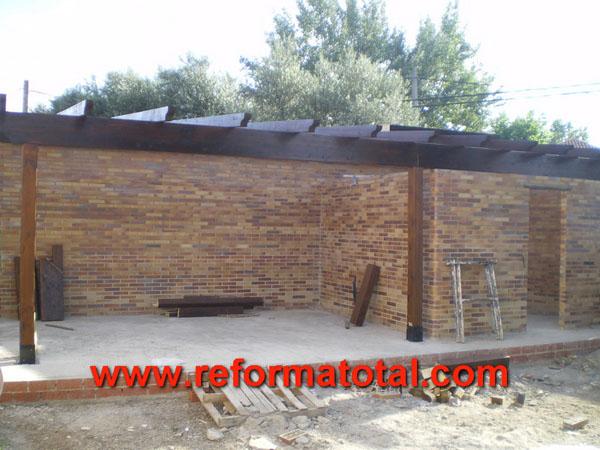 Construccion porches reforma total en madrid empresa - Empresa construccion madrid ...