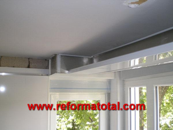 050 02 fotos falso techo aluminio reforma total en - Falso techo aluminio ...