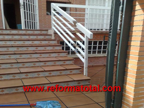 de escaleras exteriores