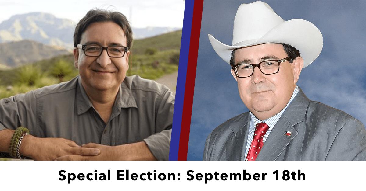 The Senate District 19 election set for Sept. 18