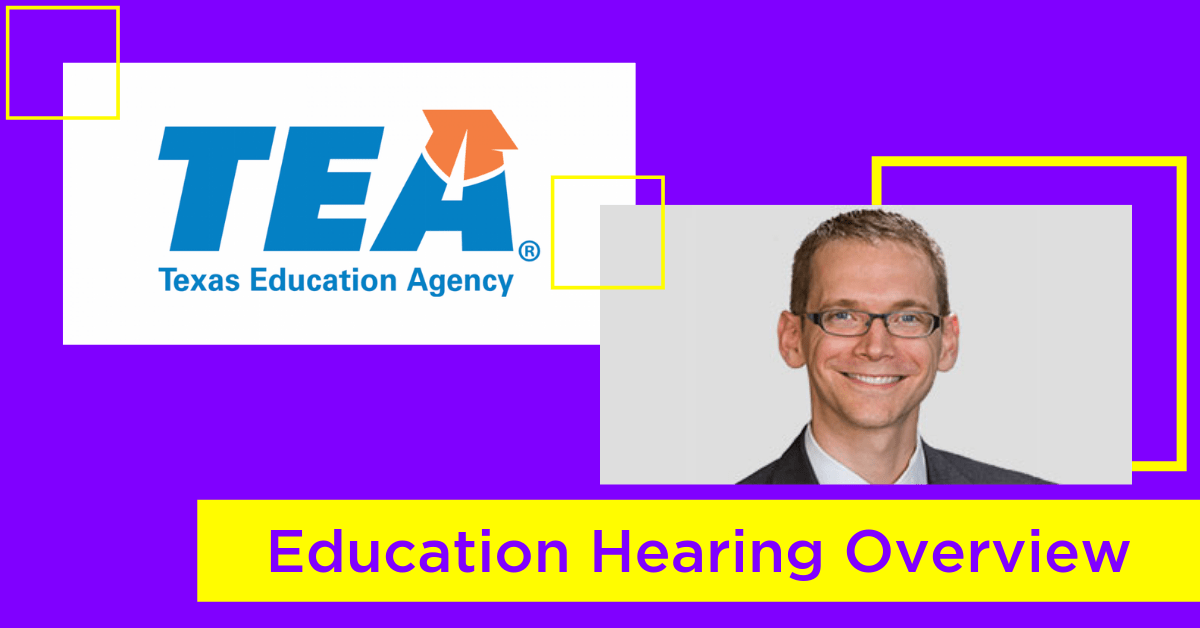 First House Public Education Committee Hearing Recap