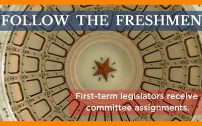 Follow the Freshmen: New Legislators Receive Committee Assignments