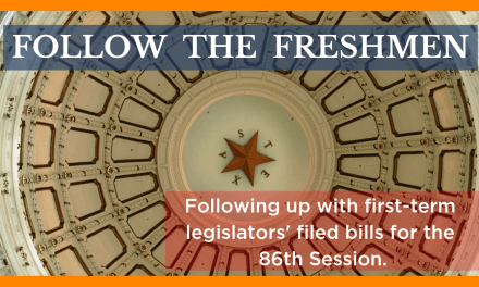 Follow the Freshmen: Checking in on Filed Bills by New Legislators
