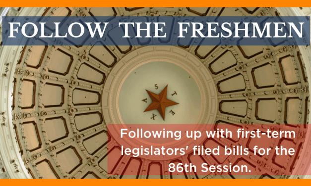 Follow the Freshmen: Checking in on Filed Bills by New Legislators