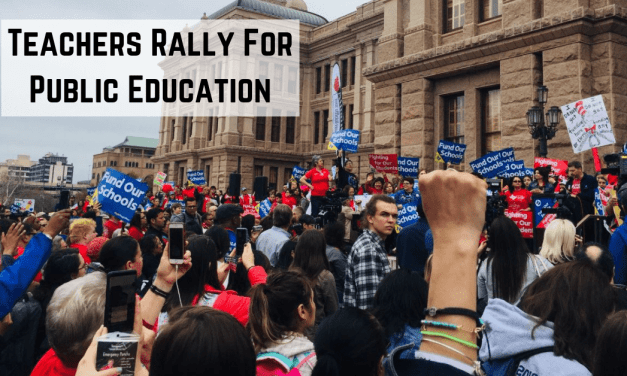 Teachers Rally for Public Education at the Capitol