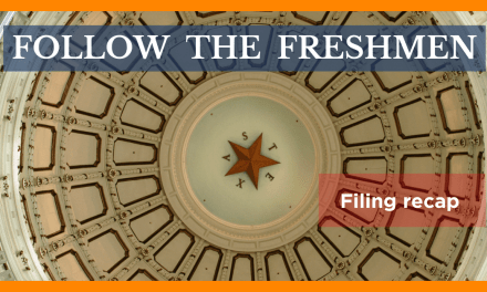 Follow the freshmen: Few bills passed since bill filing deadline